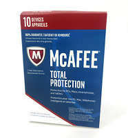 Antivirus McAfee MTP17ZLP0RAA Total Protection 10 Devices 1Year Subscription