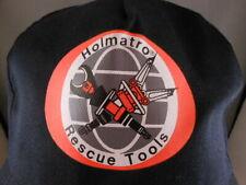 Holmatro Safety Team Rescue Tools Black Snapback Hat Baseball Cap Rare
