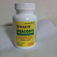 Bisacodyl Stimulant Laxative 5mg 1000ct Enteric coated Major Generic Dulcolax