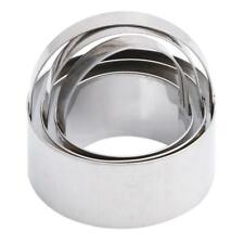 Round Mousse Cake Cookie Ring Mold Baking Cutters Stainless Steel Mould LC