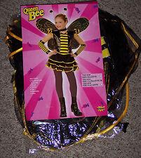 Queen bee costume,Girls med,8-10,Punk rock,funky bee,complete costume,masquerade