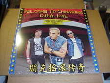 LP:  D.O.A. - Live / Welcome To Chinatown  2xLP SEALED NEW