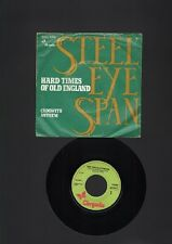 "STEELEYE SPAN Hard Times Of Old England 7"" SINGLE Cadgwith Anthem  1975"