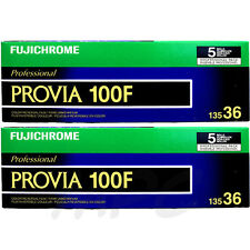 10 Rolls Fujifilm RDP-III Fujichrome 135-36 Provia 100f Color Slide Film FRESH