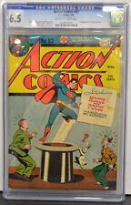 ACTION COMICS #83 CGC 6.5 Superman 1945 1st Appearance Hocus & Pocus