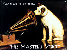 His Masters Voice Tin Sign - 16x12