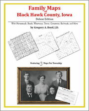 Family Maps Black Hawk County Iowa Genealogy IA Plat