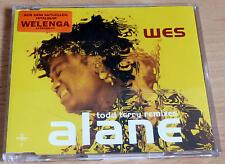 Wes - Alane *** Todd Terry Remixes  *** Maxi-CD ***