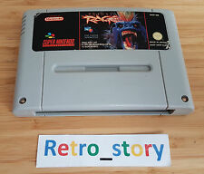 Super Nintendo SNES Primal Rage PAL