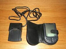 Palm M105 Handheld Pda w/Flip Case;Cradle;Serial Connector & Stylus Works