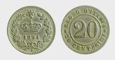 pci5123) Regno Umberto I (1878-1900) - 20 Centesimi Ni 1894 R