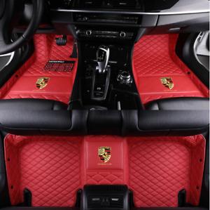 For Porsche-Boxster-Cayenne-Cayman-Macan-PanameraCar Floor Mats-Right-hand drive