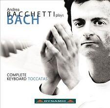 Bach: The Toccatas (Andrea Bacchetti Plays Bach), New Music