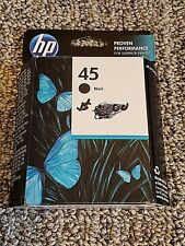 Genuine HP 45 Black Ink Cartridge EXP Oct 2015 BRAND NEW -  51645A