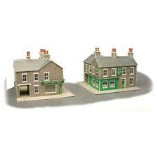 PN117 N Scale Corner Shop & Pub in Stone Metcalfe Model Kit Building