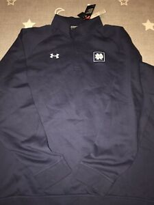 Under Armour Notre Dame Fighting Irish Campus 1/4 Snap Sweatshirt Pullover 3XL
