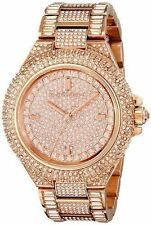 NEW Michael Kors MK5862 Camille Rose Gold Tone Pave Glitz Ladies Watch