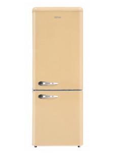 SEKOM SHCBR273SM1CF0 Réfrigérateur Combiné 258LT Static Retro Crème Classe Pour