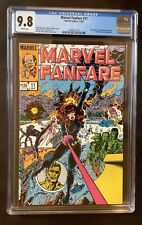 Marvel Fanfare #11, CGC 9.8, White Pages, 11/1983, 1st appearance Iron Maiden