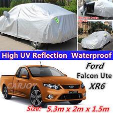 Waterproof UV Dust Rain Snow Resistant SUV Full Car Cover Ford Falcon Ute XR6