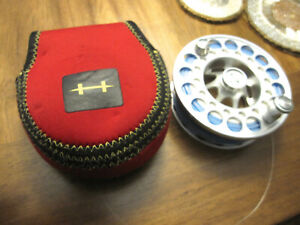 VERY NICE HATCH 7 PLUS FLY FISHING REEL SPARE SPOOL IN VERY GOOD CONDITION W/...