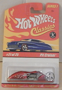 Pit Cruiser Honda 1949 Motorcycle Spectra Flame Red Hot Wheels Classics