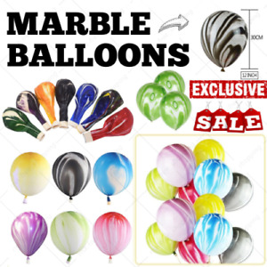 "12"" 5-25 PCS MARBLE LATEX BALLOONS HELIUM BALOONS FOR BIRTHDAY WEDDING ANY DECO"