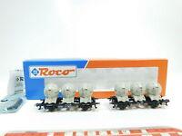 BF272-0,5# Roco H0/DC 46520 Set Behältertragwagen Haus zu Haus DB NEM, NEUW+OVP