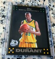 KEVIN DURANT 2007 Topps BLACK #1 Draft Pick SP Rookie Card RC 2x NBA Finals MVP