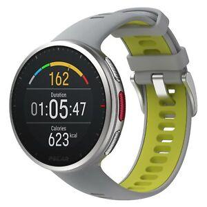 Polar Vantage V2 White Green Smart GPS Sports Running Swimming Cycling Watch