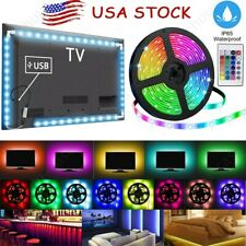 Computer TV LED Back Light Strip USB 5050 RGB Fairy Lights Room Party Bar Decor