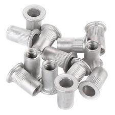 100pcs Rivet Nut Kit Mixed Aluminum Rivnut Insert Nutsert Threaded M4 M5 M6 M8