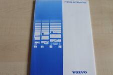 161969) Volvo LKW - IAA - Pressemappe 09/2000