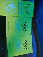 H20 unlimited 2 line plan $50 a month. 2 sim cards. 30 days preloaded