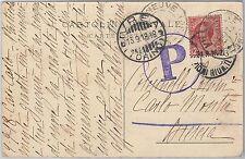 53975 - ITALIA REGNO - Storia Postale: CARTOLINA con vari annulli BELLI - 1918