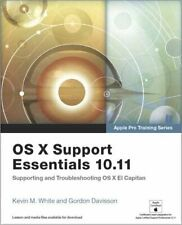OS X Support Essentials 10.11: Supporting and Troubleshooting OS X El Capitan.