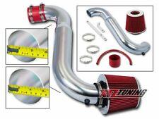 """RED 1995 1996 1997 1998 S-Series 1.9L SOHC Short Ram Air Intake Kit + Filter 3"""""""
