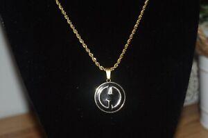 Gucci Button Pendant