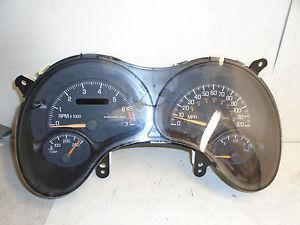 99 Pontiac Grand AM SE Speedometer Gauge Instrument Cluster OEM 150K 09360312
