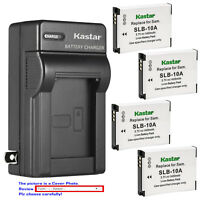 Kastar Battery Wall Charger for Toshiba PX1740E PX1752E-1C4G PX1762E-1C4G Camera