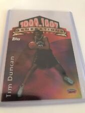 Tim Duncan Cut Basketball Trading Cards