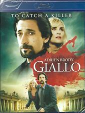 Giallo Blu-ray region B European new English spoken Dario Argento Adrien Brody