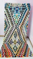 rugs wool moroccan carpets kilim handwoven  rug Multicolor Vintage