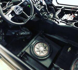"Can-am Maverick X3 10"" Under Seat Sub Box Gen 2"
