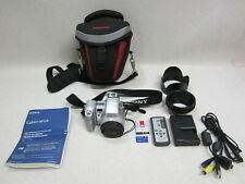 Sony DSC-H7 Cyber-Shot Digital Camera 8.1MP W/Vanguard carry Bag