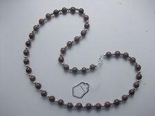 genuine purple aventurine and tibetan spacers necklace 20 inches