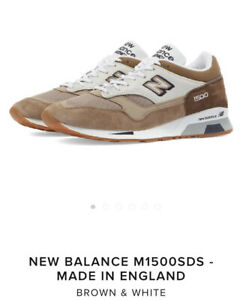 NEW BALANCE 1500 MADE IN ENGLAND 'Desert Scape' White Brown Cream M1500SDS US 11