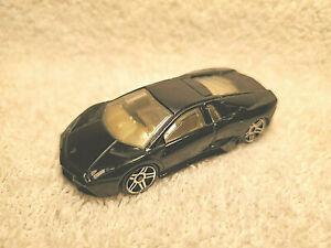 HOT WHEELS LAMBORGHINI REVENTON 1:64 BLACK DIECAST CAR N4024 - NICE