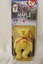 f9c46d1aae8 TY McDonalds Happy Meal Toy Maple the Bear Beanie Baby