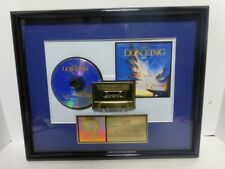 DISNEY THE LION KING Can you feel th , RIAA AWARD Certified R.I.A.A.SALES AWARD